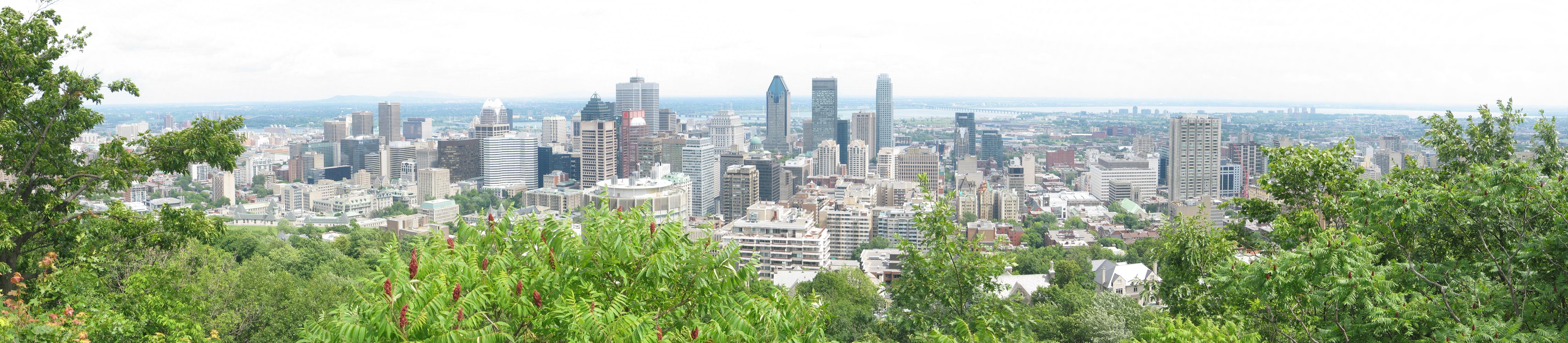 Montreal-panorama-mtRoyal